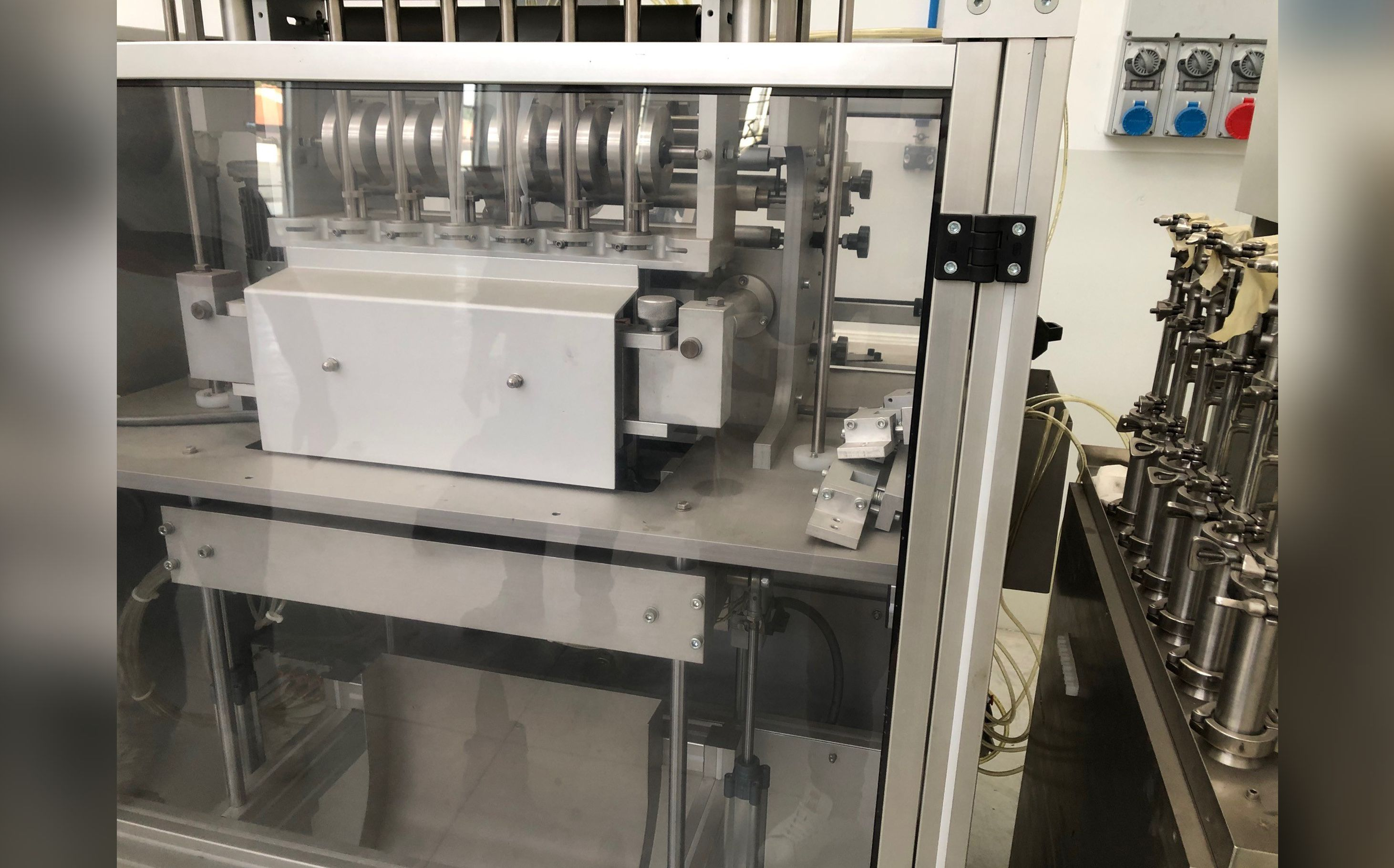 Stick packaging machines